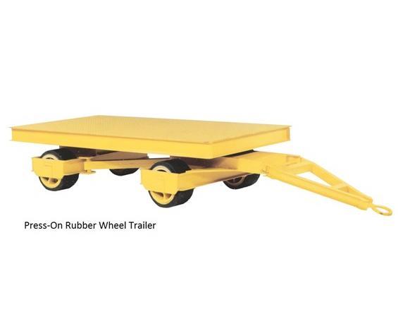 HEAVY-DUTY 5TH WHEEL STEER TRAILER